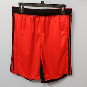 Adidas Red Athletic Shorts Large